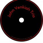 John Venkiah Trio CD-label